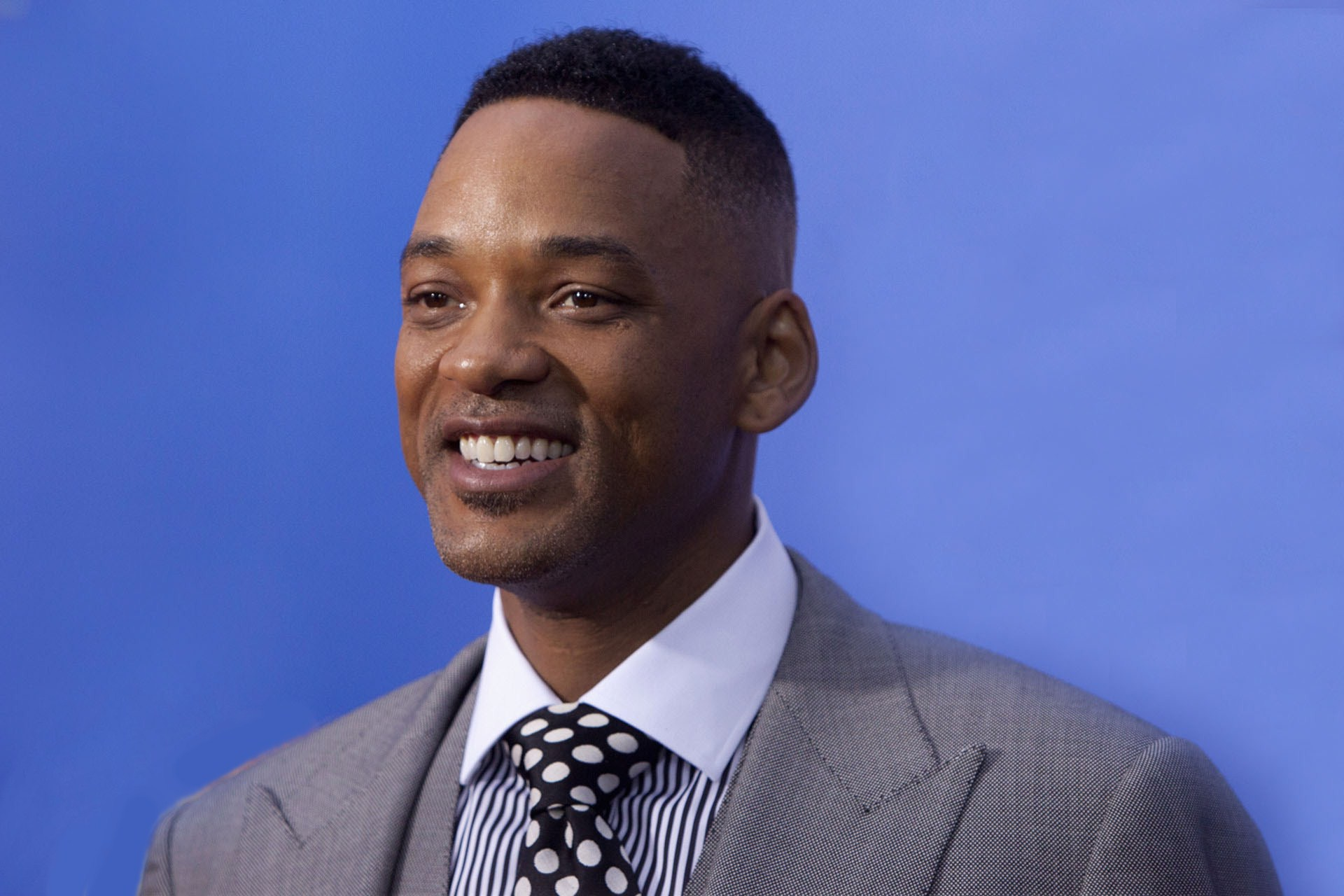 Actor Will Smith smile Wallpapers