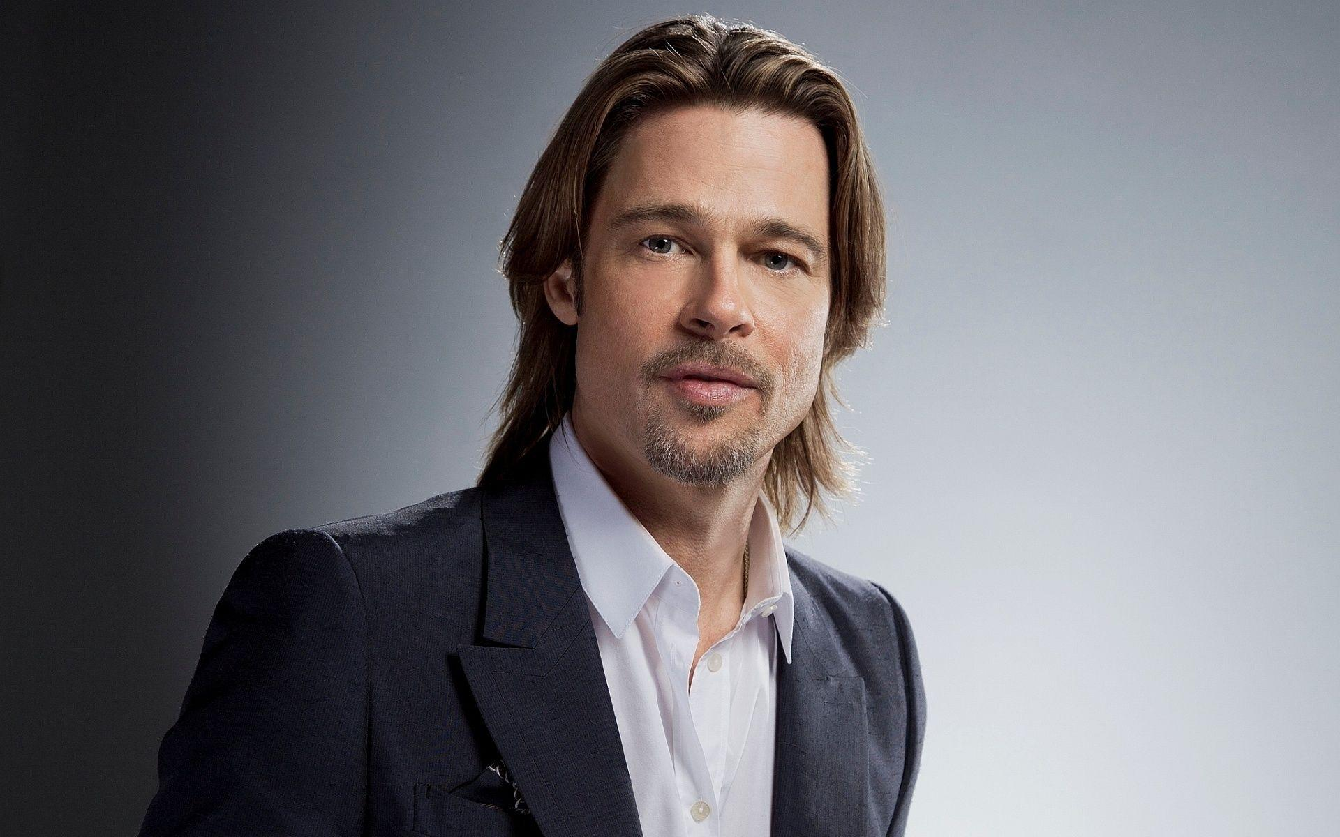 Brad Pitt Hair Style Photos and images
