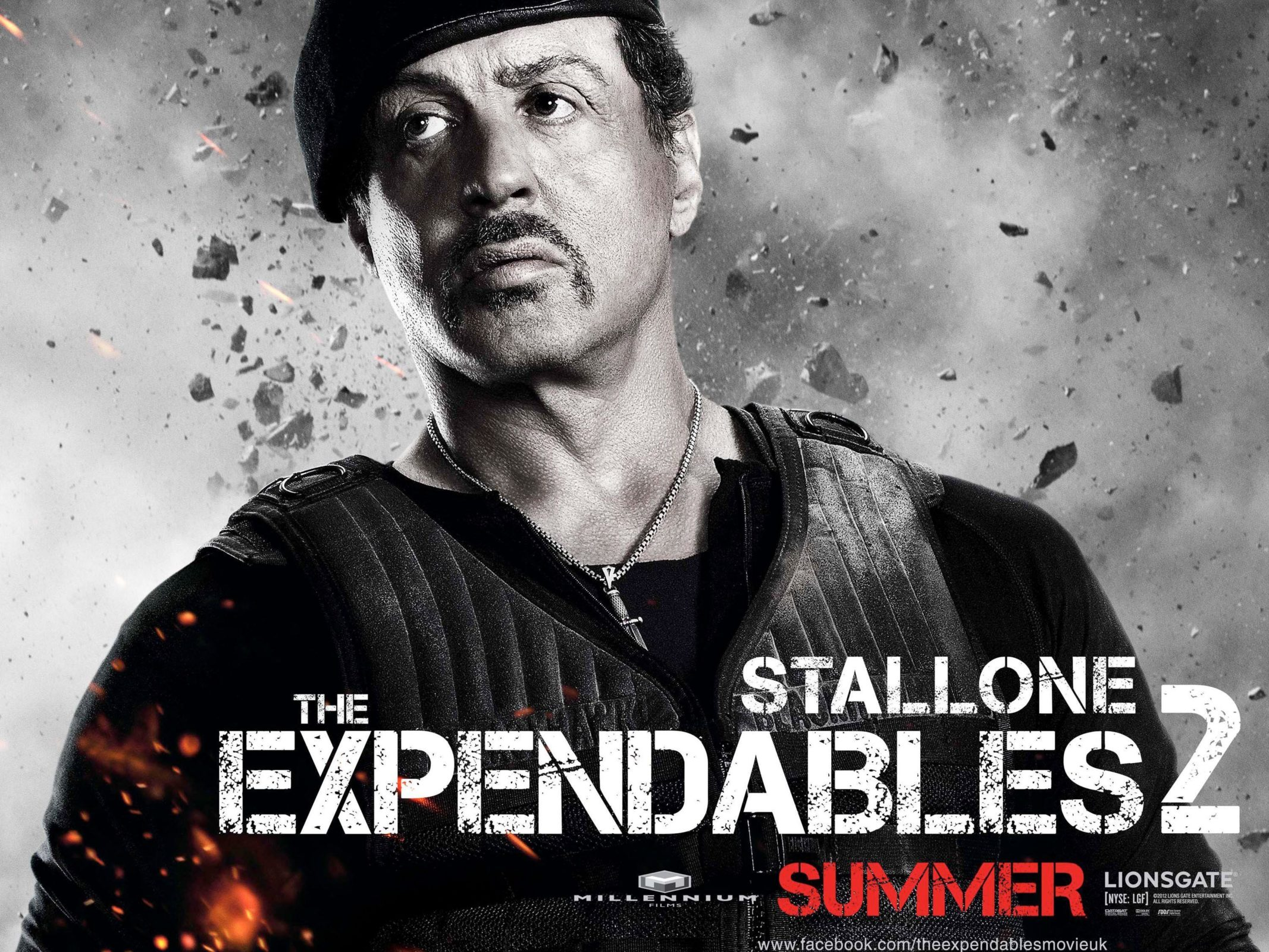 Sylvester Stallone in expandables 2 movie