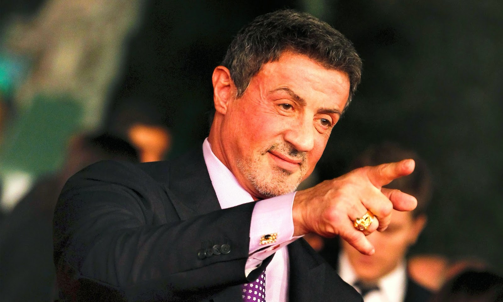 Sylvester Stallone in suit Wallpapers