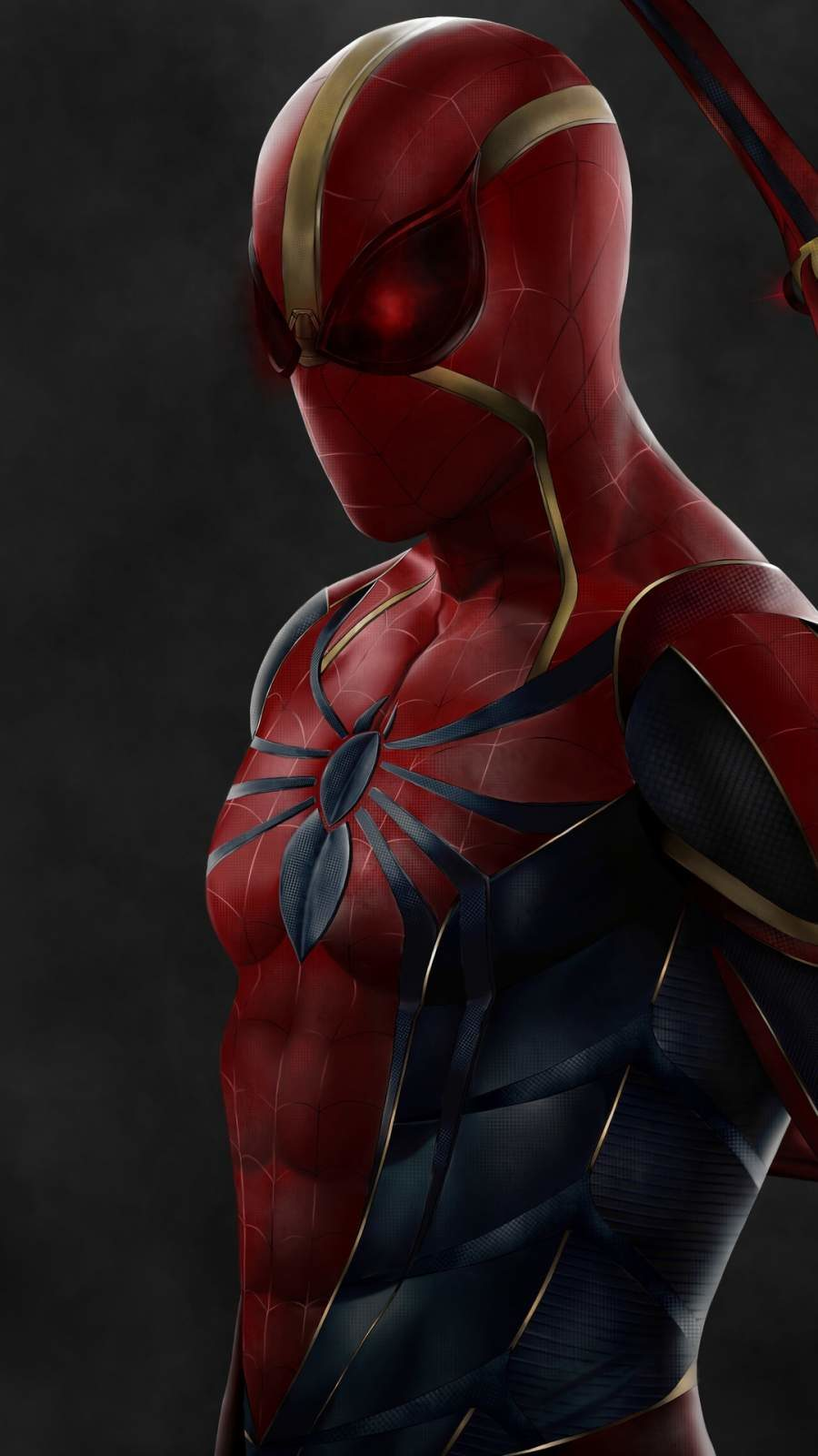 Free spiderman background for high resolution mobile screen