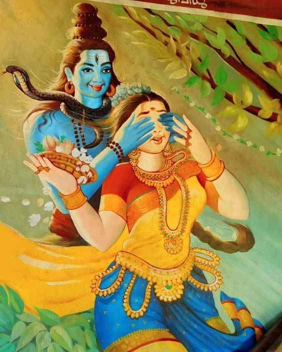 shiv parvati wallpapers hd images
